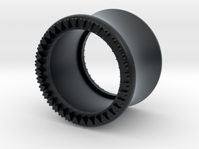 VORTEX10-13mm in Black Hi-Def Acrylate
