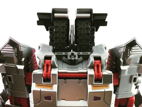Titan Master Neck Socket for CW Leader Megatron in White Processed Versatile Plastic