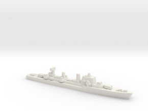 Halland-class destroyer, 1/1800 in White Natural Versatile Plastic