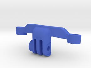 Inverted SWAT / GoPro Mount  in Blue Processed Versatile Plastic
