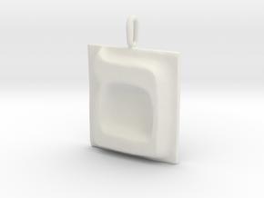 24 Mem-sofit Pendant in White Natural Versatile Plastic