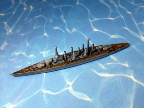 USS CC 1 Lexington 1916 1/1250  in White Natural Versatile Plastic