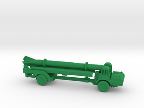 1/110 Scale Corporal Missile Launcher in Green Strong & Flexible Polished