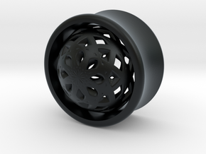 VORTEX2-19mm in Black Hi-Def Acrylate