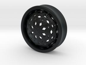 VORTEX3-34mm in Black Hi-Def Acrylate
