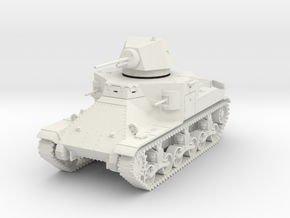 PV36A M2 Medium Tank (28mm) in White Strong & Flexible