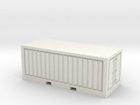 Container 20 Fuß - 1:220 / 1:160 in White Natural Versatile Plastic: 1:220 - Z