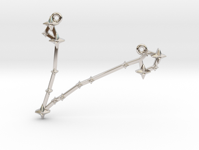 The Constellation Collection - Pisces in Platinum