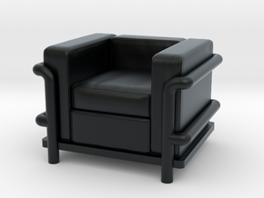 Le Corbusier chair in Black Hi-Def Acrylate