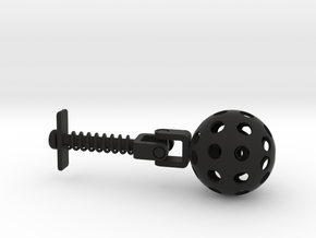 3D Printing Educational Fidget in Black Strong & Flexible