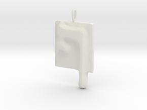 26 Pe-sofit Pendant in White Natural Versatile Plastic