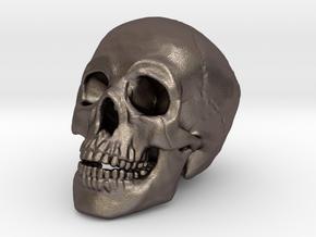 Human Skull Pendant - Skull Bead in Stainless Steel