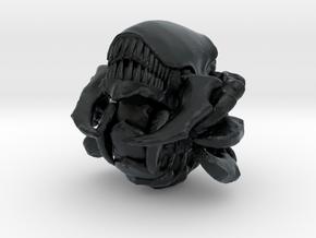 Absorberwurm 4 Cluster Sichelbiss offen zu Rollend in Black Hi-Def Acrylate