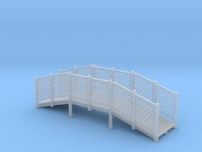 Miniature 1:48 Footbridge in Smooth Fine Detail Plastic