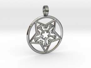 WITCHES BREW in Fine Detail Polished Silver