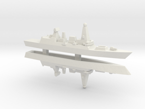 Type 45 DDG x 2, 1/3000 in White Strong & Flexible