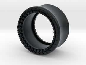 VORTEX8-18mm in Black Hi-Def Acrylate