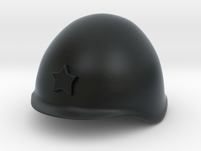 Russian Helmet ssh39/40 (test DC) in Black Hi-Def Acrylate