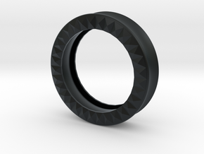 VORTEX9-43mm in Black Hi-Def Acrylate