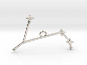 The Constellation Collection - Aries in Platinum