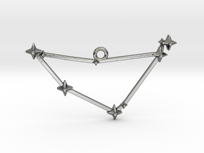 The Constellation Collection - Capricorn in Polished Silver