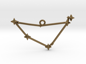 The Constellation Collection - Capricorn in Natural Bronze