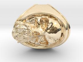 OldBeard-Junior  in 14K Yellow Gold