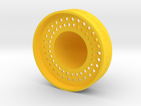 Exprimidor-Squeezer in Yellow Processed Versatile Plastic