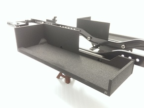 CMAX+D90 RIGHT Battery Tray in Black Strong & Flexible