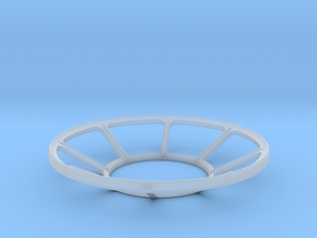 YT1300 5 FOOTER TURRET WELL WINDOW in Smooth Fine Detail Plastic