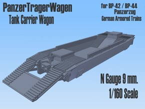 1-160 Panzer-Tr-Wagen For BP-42 in Frosted Ultra Detail