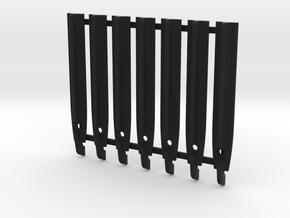 Minicam Grip Tapered Flat Top in Black Natural Versatile Plastic
