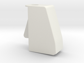 Cape1 in White Natural Versatile Plastic