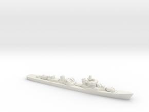 Kotlin-class destroyer, 1/1800 in White Natural Versatile Plastic