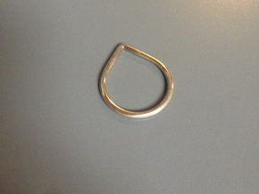 Drop Ring in 18k Gold Plated