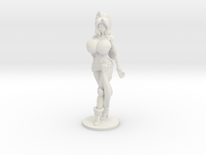 Veronika Red RPG 40mm Mini in White Natural Versatile Plastic