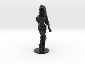 Veronika Red RPG 40mm Mini in Black Hi-Def Acrylate