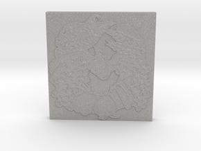 Abundance Horseshoe 1 Tile by Gabrielle in Aluminum