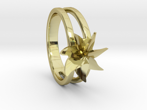 Flower Ring Size 5.5 in 18k Gold