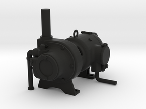 """2.5"""" Scale Mosley Generator Live Steam in Black Strong & Flexible"""
