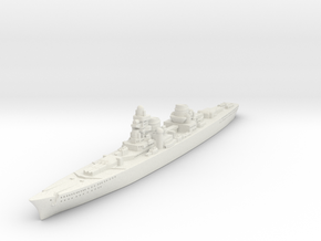 P-Class German Cruiser (GW36) in White Natural Versatile Plastic