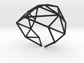 Strukt Bracelet in Black Natural Versatile Plastic