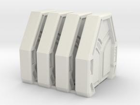 Star Wars: Imperial Assault Door Style 1 in White Natural Versatile Plastic