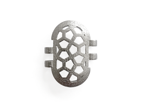 KPS Outer Piece - Cairo in Polished Nickel Steel