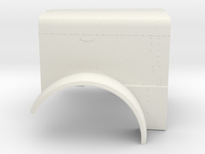 1/24 Peterbilt 379 Ext Hood part for italeri peter in White Natural Versatile Plastic: 1:24