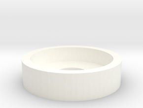 Wessex Tail Wheel Cylinder Cap in White Processed Versatile Plastic