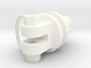 Wessex UC Leg Top in White Processed Versatile Plastic