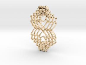 Interlocked Hearts in 14K Yellow Gold