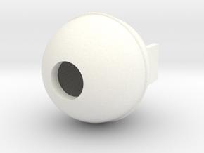 Wessex Gas Bottle in White Processed Versatile Plastic