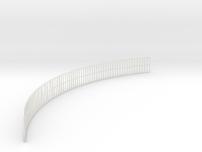 YT1300 DEAGO ENGINE GRILLE 1 MM in White Natural Versatile Plastic